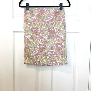 Paisley Mini Skirt!